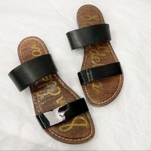 Sam Edelman Krista Flat Sandals Double Straps 6
